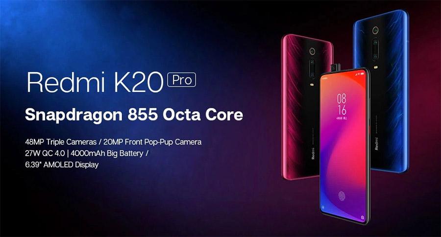 Xiaomi Redmi K20 Pro with Snapdragon 855