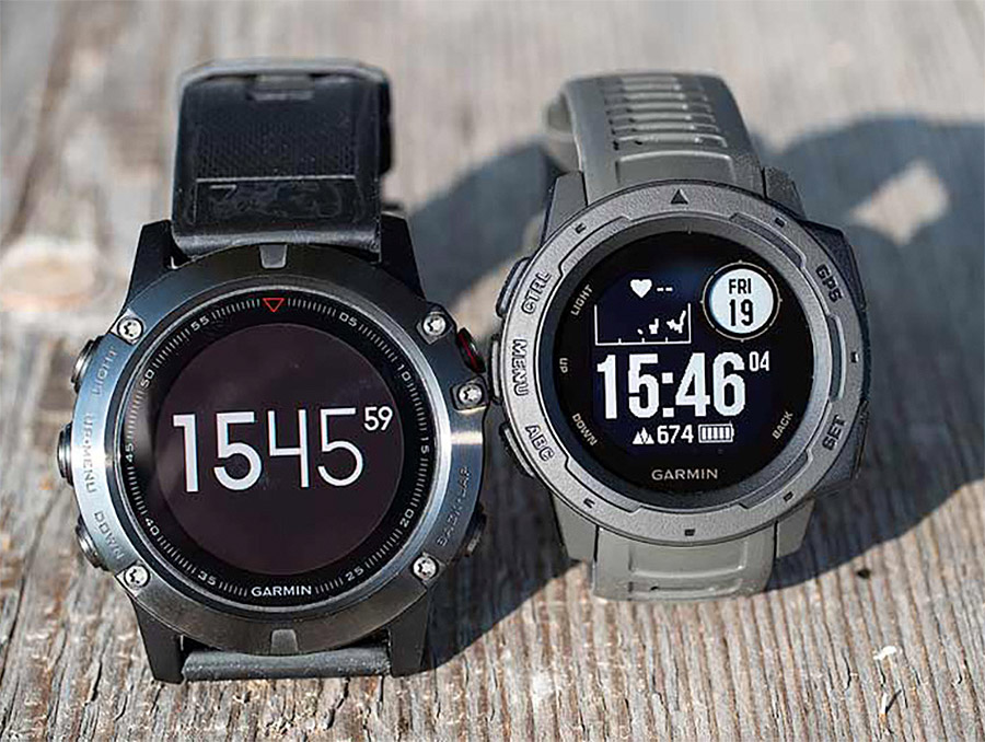 Garmin Instinct vs Garmin Fenix Comparison