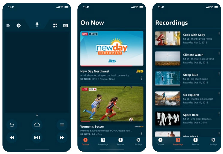 Amazon Fire TV Stick iPhone app