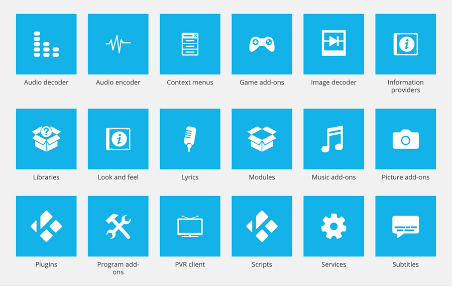Kodi comes with tons of add-ons to choose from