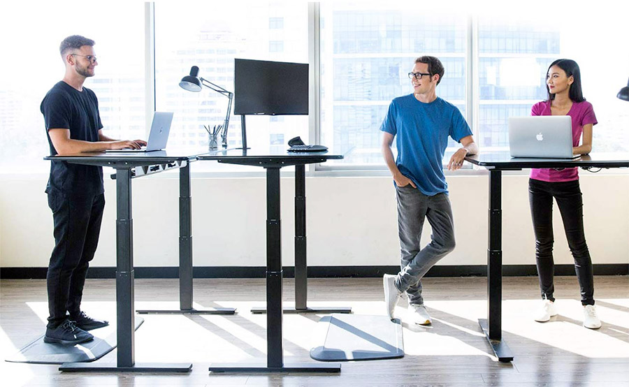 Standing desk is keeping you burned more calories while working