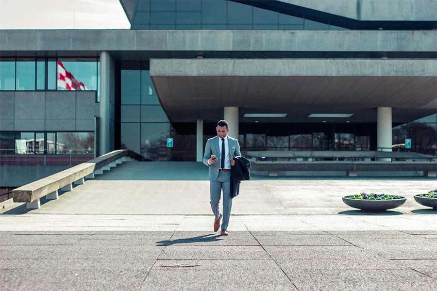 Walk around the office